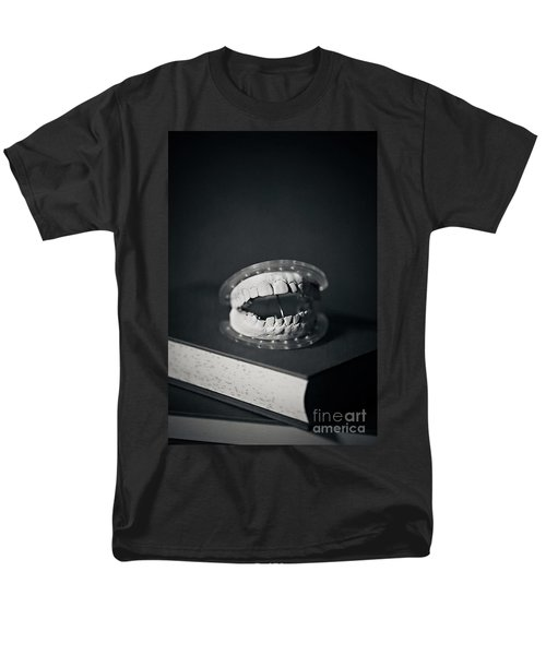 Men's T-Shirt  (Regular Fit) featuring the photograph Whose Teeth Are These? by Trish Mistric