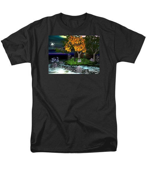 Wicked In The Darkest Hours Of Night Men's T-Shirt  (Regular Fit) by Jacqueline Lloyd