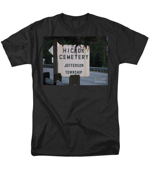 Men's T-Shirt  (Regular Fit) featuring the photograph Wild Bill Hickok by Michael Krek