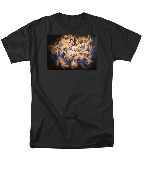 Men's T-Shirt  (Regular Fit) featuring the painting Wild Dance by Georg Douglas