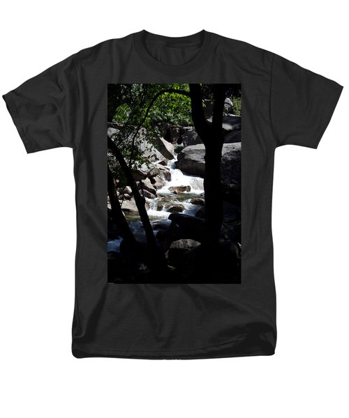 Wild River Men's T-Shirt  (Regular Fit) by Brian Williamson