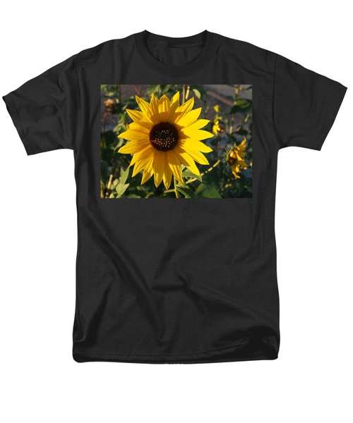Wild Sunflower Men's T-Shirt  (Regular Fit) by Nadja Rider