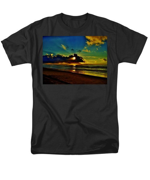 Wildwood Sunrise Men's T-Shirt  (Regular Fit) by Ed Sweeney