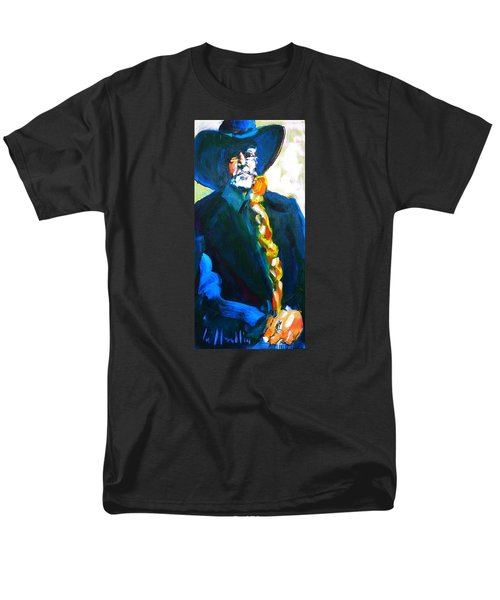 Willie Men's T-Shirt  (Regular Fit) by Les Leffingwell