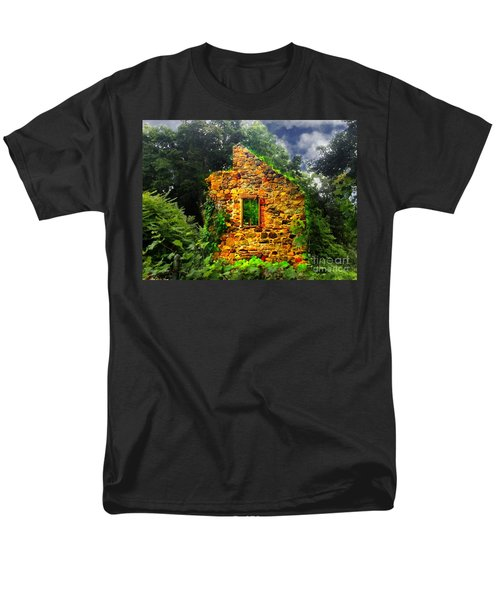 Window To Her Soul Men's T-Shirt  (Regular Fit) by Becky Lupe