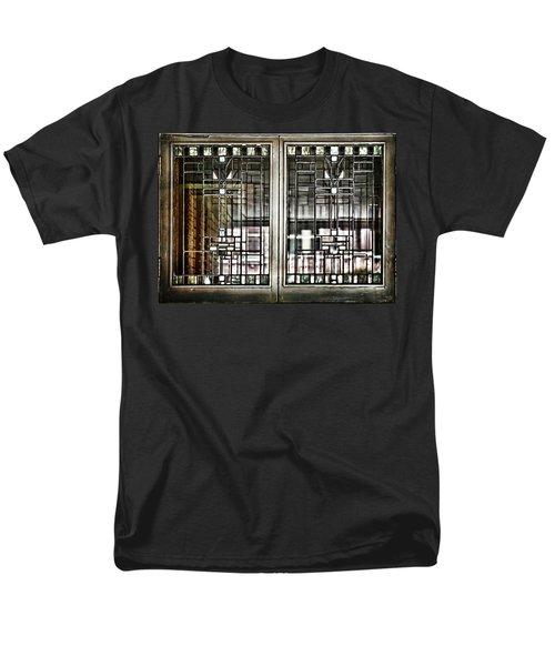 Windows Of A Prairie House  Men's T-Shirt  (Regular Fit) by Evie Carrier
