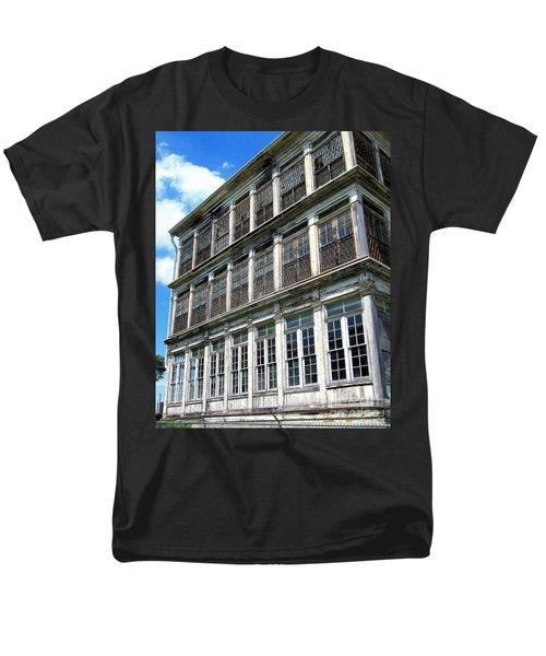 Lunatic Asylum Windows  Men's T-Shirt  (Regular Fit) by Peter Gumaer Ogden