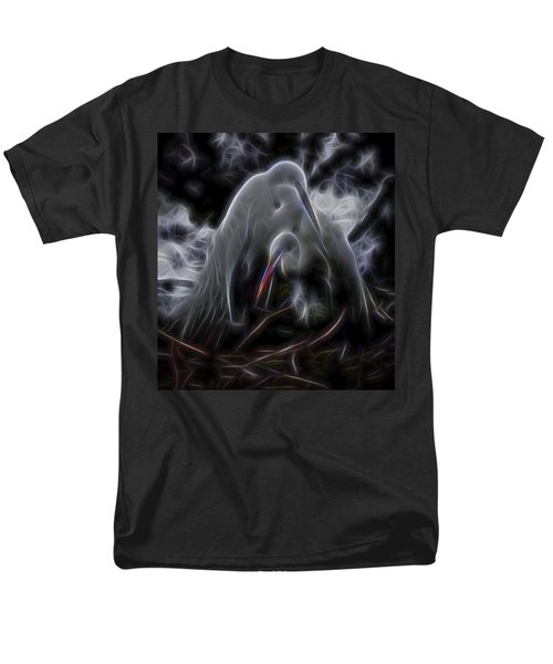 Men's T-Shirt  (Regular Fit) featuring the digital art Winged Romance 1 by William Horden