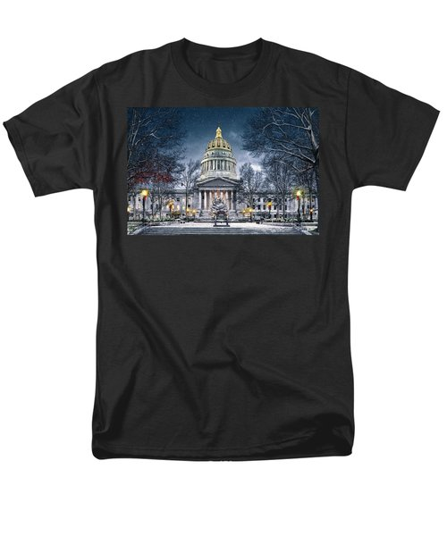 Winter At The Capitol Men's T-Shirt  (Regular Fit)