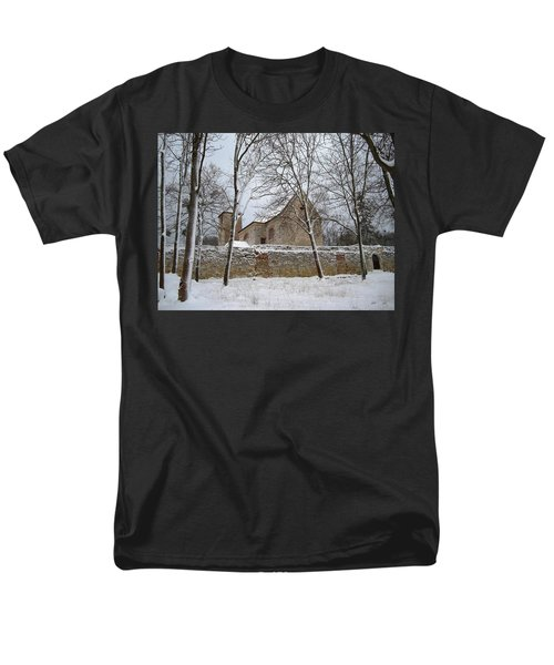 Men's T-Shirt  (Regular Fit) featuring the photograph Old Monastery by Gabriella Weninger - David