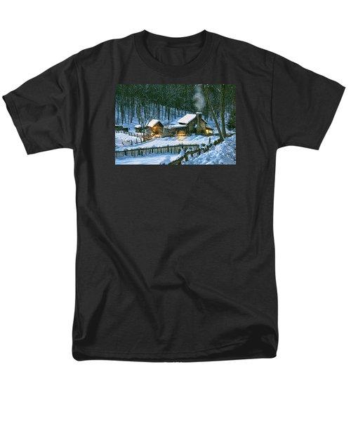 Winter's Haven Men's T-Shirt  (Regular Fit)
