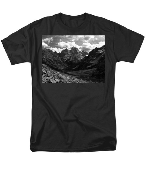 Men's T-Shirt  (Regular Fit) featuring the photograph Within The North Fork Of Cascade Canyon by Raymond Salani III