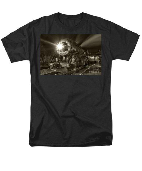 Wmsr Engine 734 At The Frostburg Depot Men's T-Shirt  (Regular Fit)