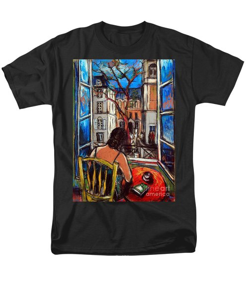 Woman At Window Men's T-Shirt  (Regular Fit)
