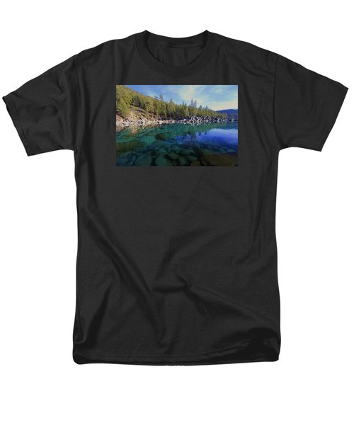 Men's T-Shirt  (Regular Fit) featuring the photograph Wondrous Waters by Sean Sarsfield