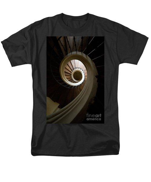Wooden Spiral Men's T-Shirt  (Regular Fit)