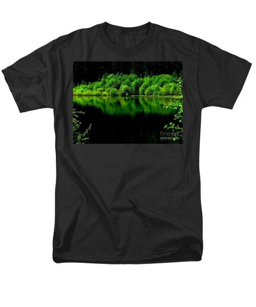 Work In Green Men's T-Shirt  (Regular Fit) by Greg Patzer