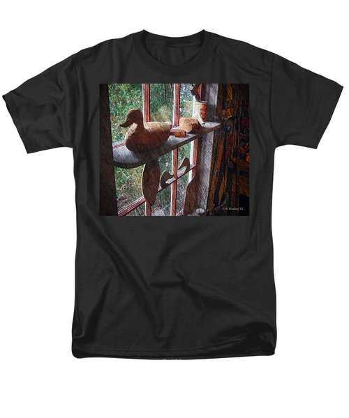 Workshop Window Men's T-Shirt  (Regular Fit) by Brian Wallace