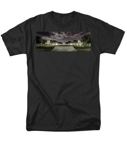 World War II Memorial Men's T-Shirt  (Regular Fit) by David Morefield