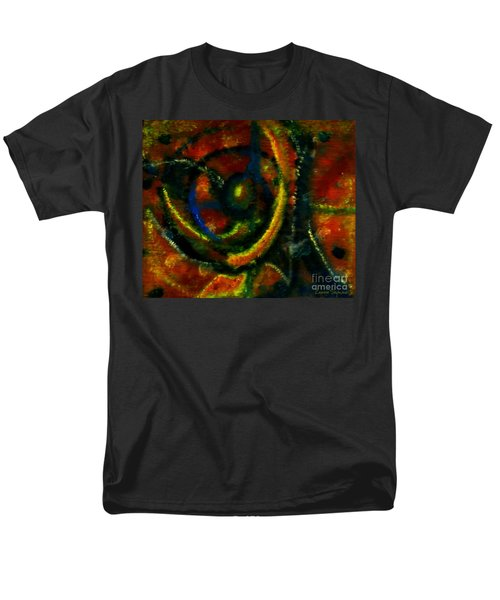 Men's T-Shirt  (Regular Fit) featuring the painting Worship In Movement by Leanne Seymour