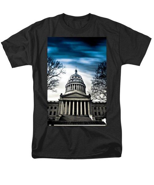 Wv State Capitol Building Men's T-Shirt  (Regular Fit)