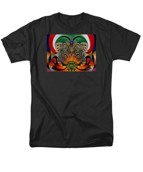 Xiuhcoatl The Fire Serpent Men's T-Shirt  (Regular Fit)