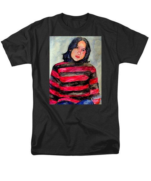 Men's T-Shirt  (Regular Fit) featuring the painting Yanti P by Jason Sentuf