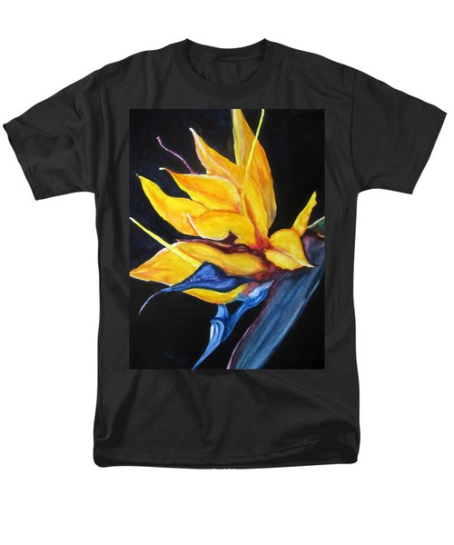 Men's T-Shirt  (Regular Fit) featuring the painting Yellow Bird by Lil Taylor