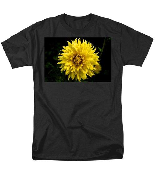 Yellow Flower Men's T-Shirt  (Regular Fit) by Matt Harang