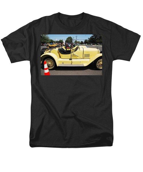 Yellow Mercer Men's T-Shirt  (Regular Fit) by Mustafa Abdullah