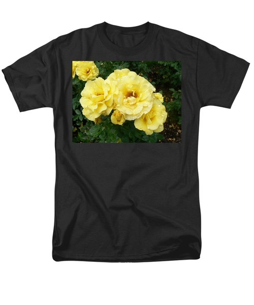 Yellow Rose Of Pa Men's T-Shirt  (Regular Fit) by Michael Porchik