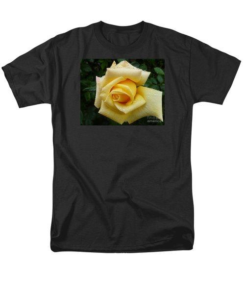 Yellow Rose Say Goodbye Men's T-Shirt  (Regular Fit) by Lingfai Leung