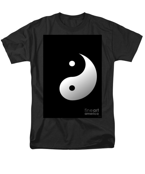 Yin And Yang Men's T-Shirt  (Regular Fit) by Roz Abellera Art