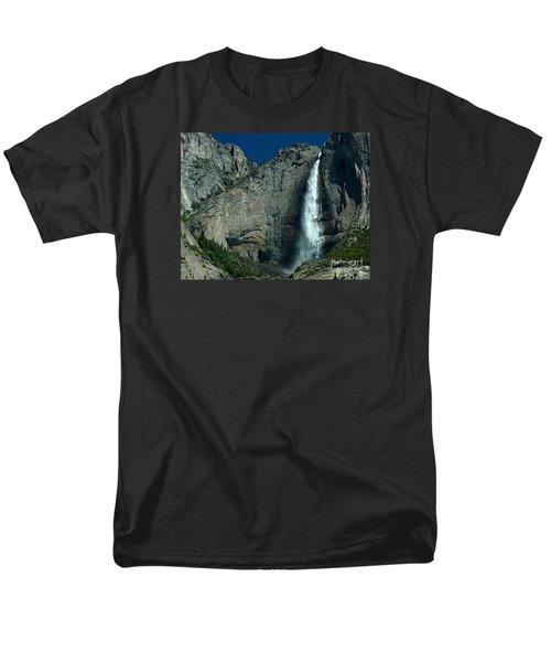 Men's T-Shirt  (Regular Fit) featuring the photograph Yosemite Falls by Nick  Boren