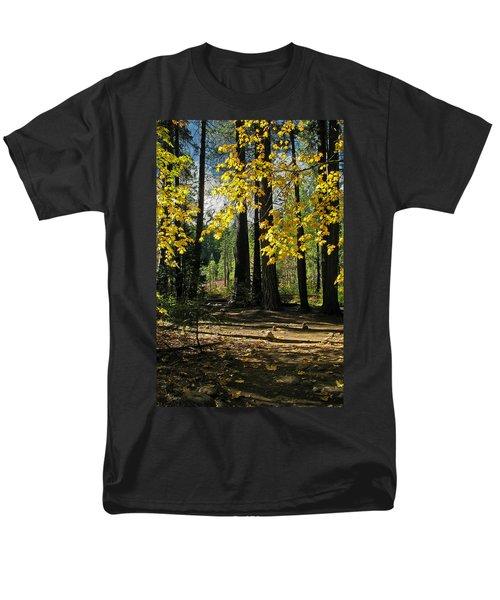 Men's T-Shirt  (Regular Fit) featuring the photograph Yosemite Fen Way by John Haldane