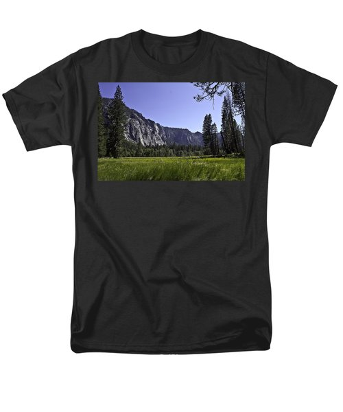 Yosemite Meadow Men's T-Shirt  (Regular Fit) by Brian Williamson
