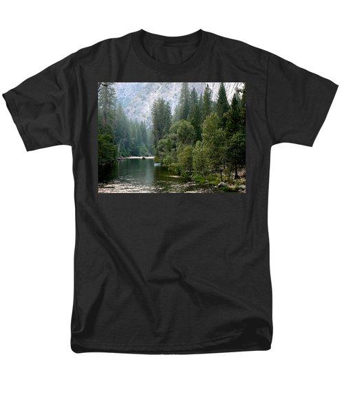 Yosemite National Park Men's T-Shirt  (Regular Fit) by Laurel Powell