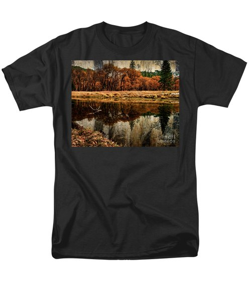 Yosemite Reflections Men's T-Shirt  (Regular Fit) by Terry Garvin
