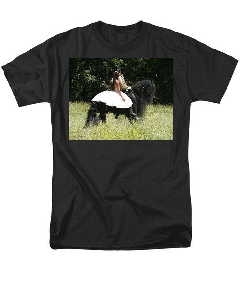 You May Kiss The Bride Men's T-Shirt  (Regular Fit) by Carol Lynn Coronios