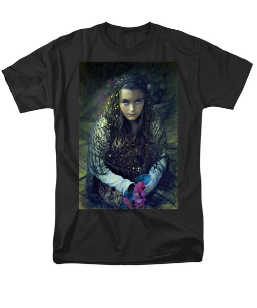 Men's T-Shirt  (Regular Fit) featuring the photograph Young Maiden by John Rivera