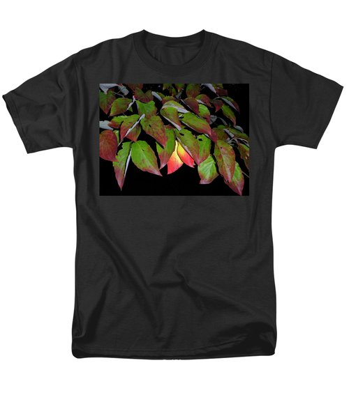 Men's T-Shirt  (Regular Fit) featuring the photograph Your Colors Are Showing by Lew Davis