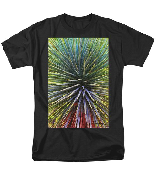 Men's T-Shirt  (Regular Fit) featuring the photograph Yucca At The Arboretum by Tom Janca