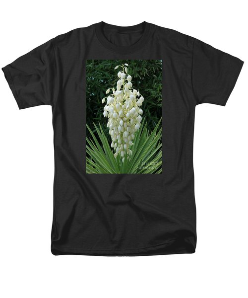 Yucca Blossoms Men's T-Shirt  (Regular Fit) by Christiane Schulze Art And Photography