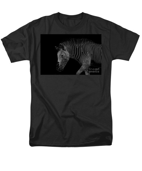 Zebra Art Men's T-Shirt  (Regular Fit)