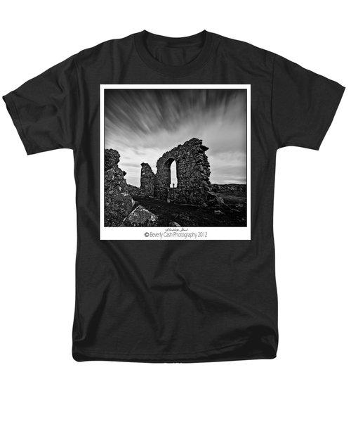 Llanddwyn Island Ruins Men's T-Shirt  (Regular Fit) by Beverly Cash