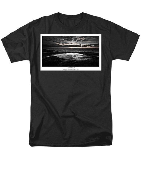Red Rock Beach   Men's T-Shirt  (Regular Fit) by Beverly Cash