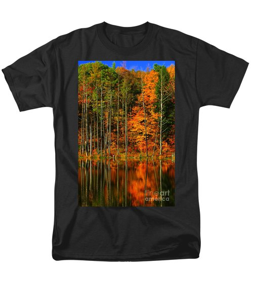 Coxsackie New York State Men's T-Shirt  (Regular Fit) by Mark Gilman