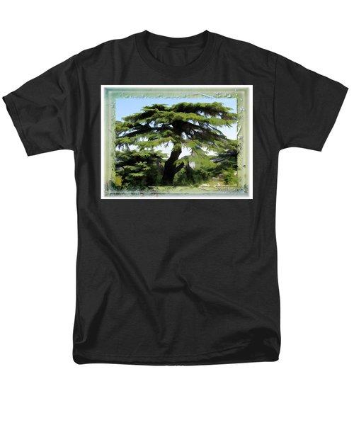 Do-00512 Cedar Forest Men's T-Shirt  (Regular Fit) by Digital Oil