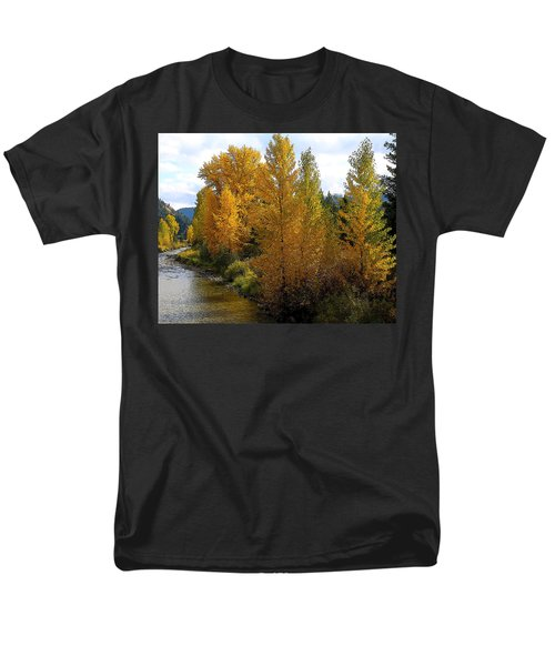 Men's T-Shirt  (Regular Fit) featuring the photograph Fall Colors by Steve McKinzie