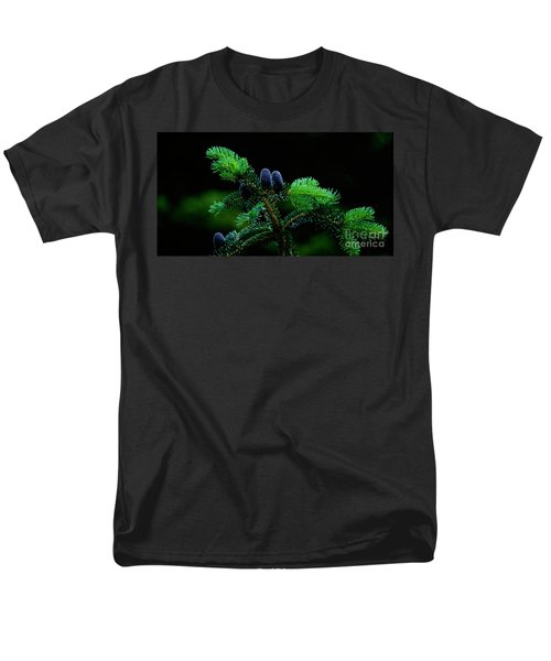 Men's T-Shirt  (Regular Fit) featuring the photograph Mountain Life by Sharon Elliott